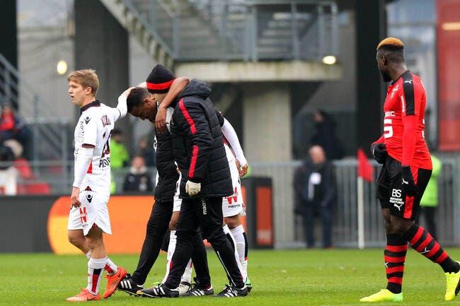 OGCN : Terrible coup dur pour Nice, Pléa out pour la saison