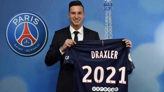 Officiel : Julian Draxler signe au PSG jusqu'en 2021