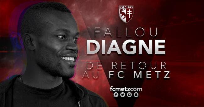 Officiel : Metz se fait prêter Fallou Diagne par Brême
