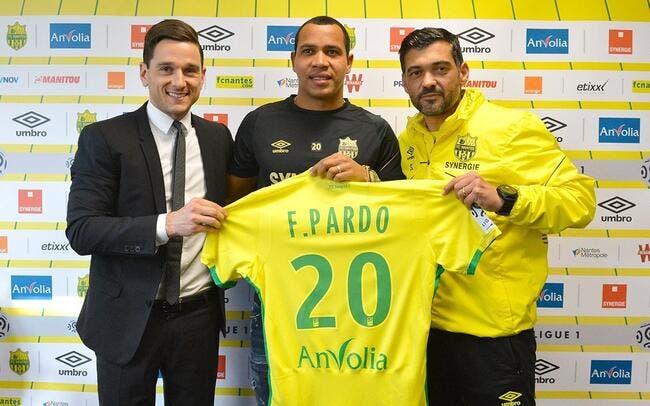Officiel : Felipe Pardo prêté au FC Nantes
