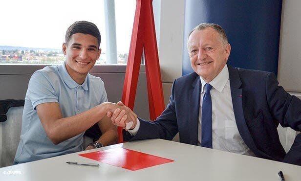 OL : Lyon prolonge Houssem Aouar jusqu'en 2020