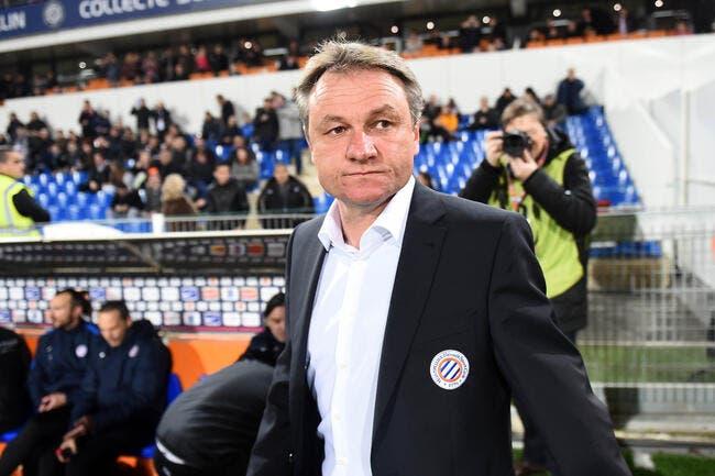 Hantz s'attend à sauter — Montpellier