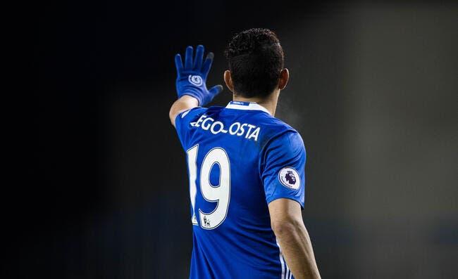 Chelsea : Diego Costa écarté après un clash avec Conte