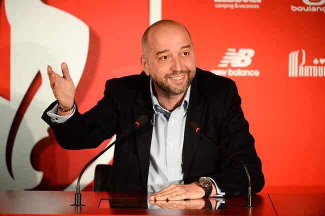 LOSC: Gérard Lopez veut mettre Lille dans le Top 3