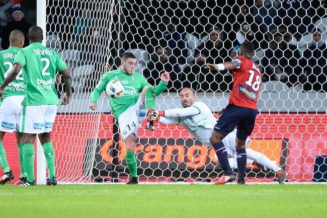 ASSE: Galtier remercie Jessy Moulin après le nul à Lille