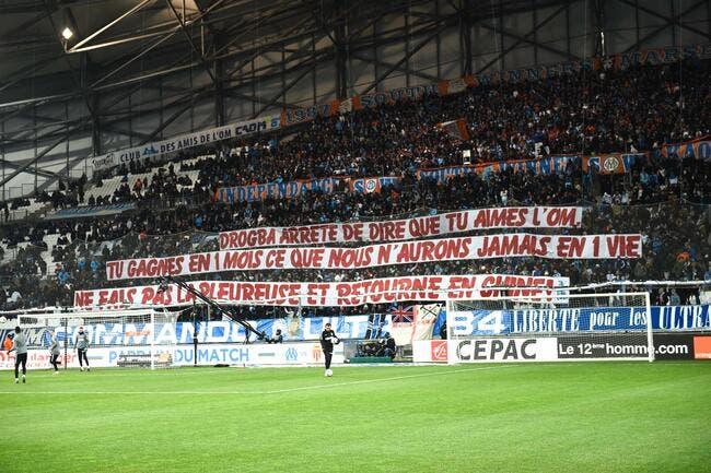 OM: La banderole sans pitié des fans à l'encontre de Didier Drogba