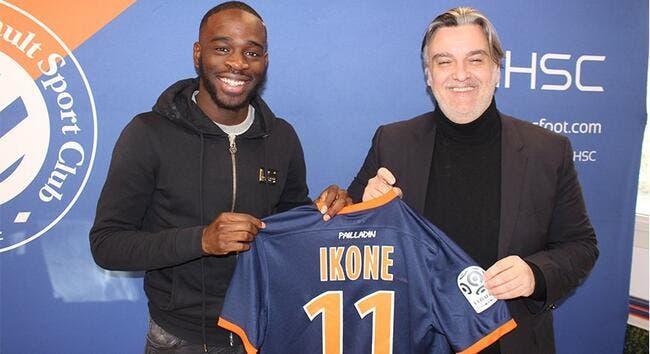 Officiel: Le PSG prête Ikoné à Montpellier