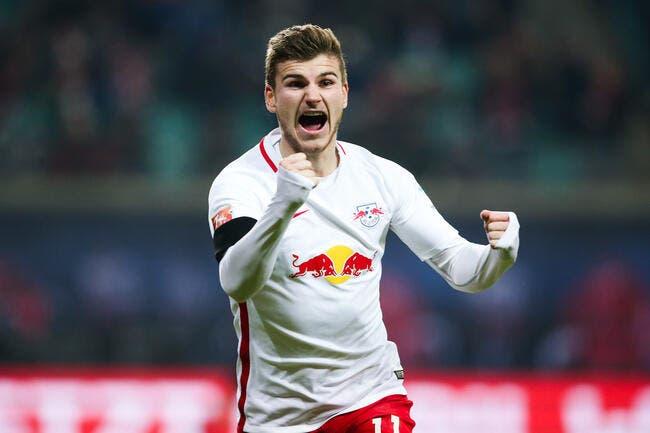 RB Leipzig - Eintracht Francfort : 3-0