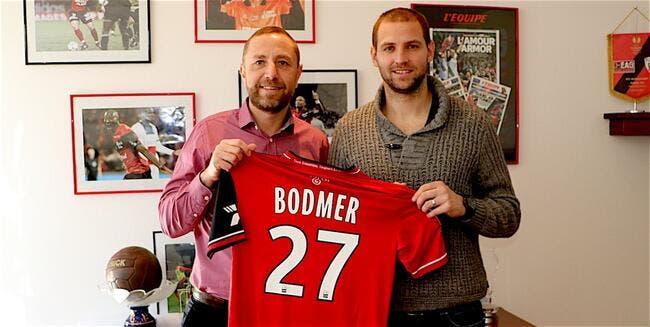 Bodmer signe à Guingamp — Officiel