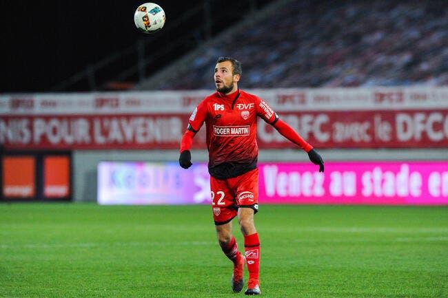 Foot/L1/L2 - Gastien quitte Dijon pour Brest