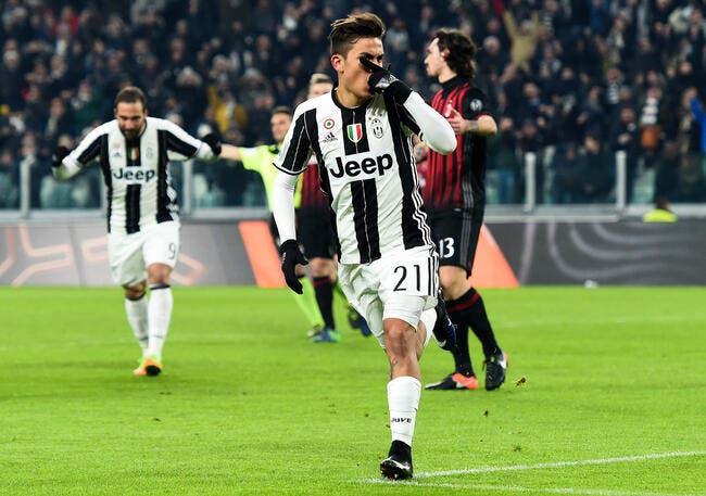 Coupe d'Italie : la Juventus écarte le Milan