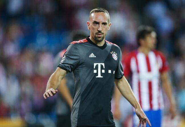 Bayern : Ribéry se blesse encore