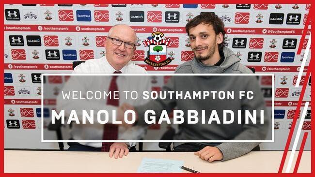 Mercato : Pisté par l'OM, Gabbiadini signe à Southampton