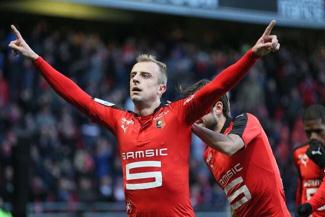 Rennes: Une offre à 9 ME, et Grosicki s'envole pour Hull City