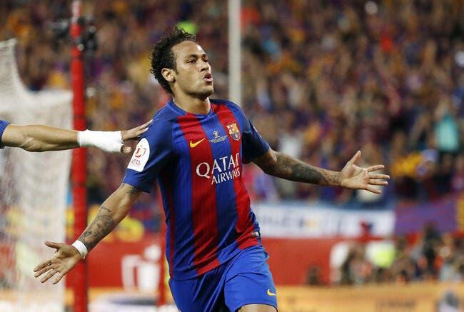 FC Barcelone : la clause libératoire de Neymar augmente