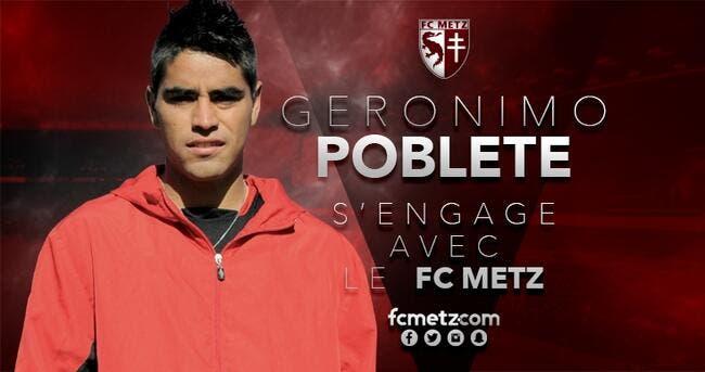 Officiel : Gerónimo Poblete signe 4 ans au FC Metz