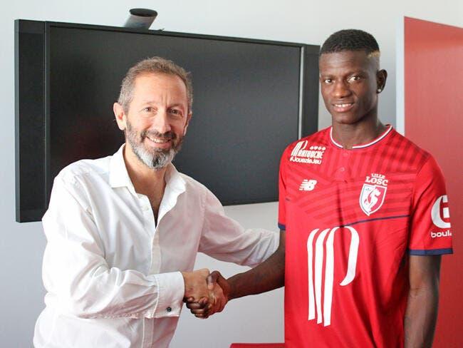 Officiel : Edgar Ié signe à Lille jusqu'en 2022