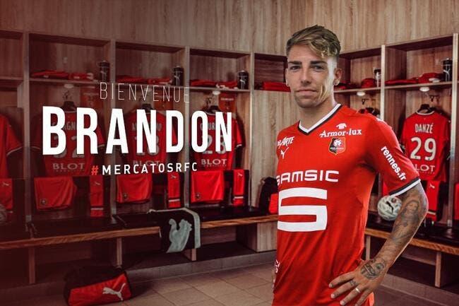 Ligue 1 : l'espagnol Brandon Thomas Llamas, nouvel attaquant au Stade rennais