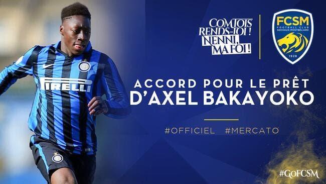 Officiel : Une pépite de l'Inter débarque à Sochaux