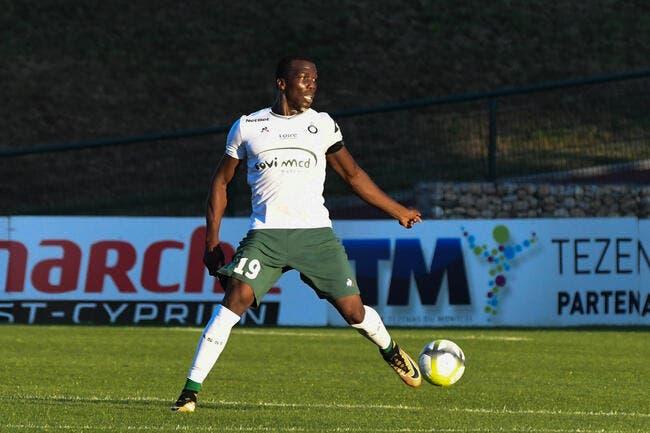 La tuile pour Florentin Pogba — Saint-Etienne