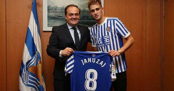 Januzaj s'engage avec la Real Sociedad