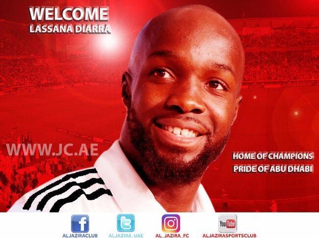 Officiel : Lassana Diarra signe à Al Jazira