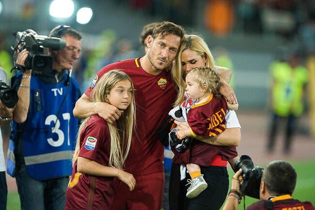 Officiel : Totti et le foot, c'est bien fini