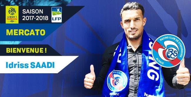 Officiel : Strasbourg recrute Idriss Saadi
