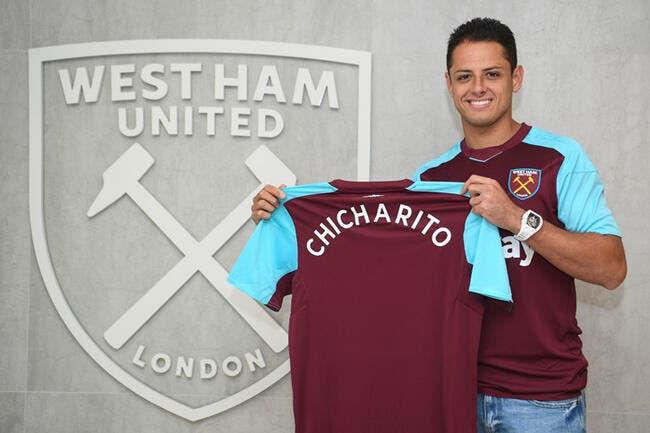 OFFICIEL : Chicharito signe à West Ham !