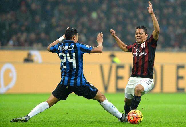 OM : Bacca figure bien sur la liste du Milan en Europa League