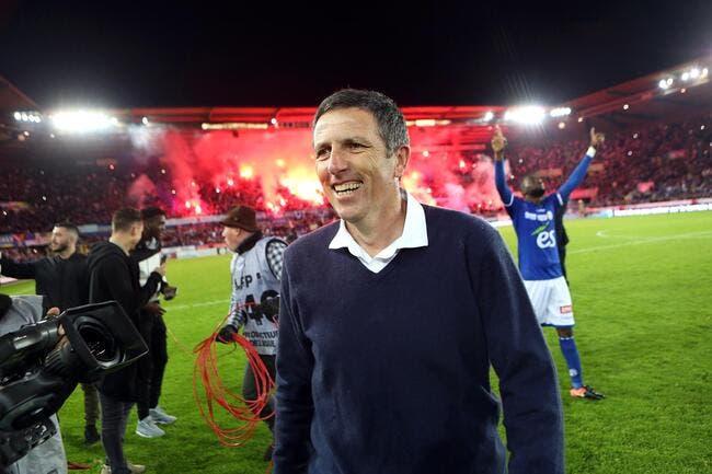 Officiel : Laurey prolongé jusqu'en 2019 comme coach de Strasbourg