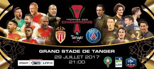 Monaco - PSG : Les compos (21h sur BeInSports 1)