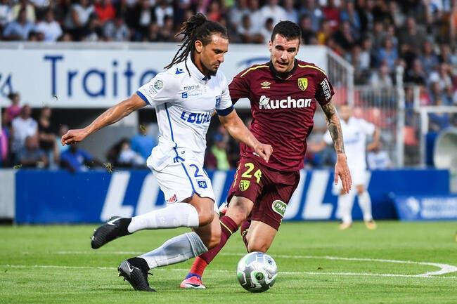 Auxerre - Lens : 1-0