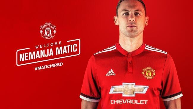 Officiel : Nemanja Matic signe à Manchester United