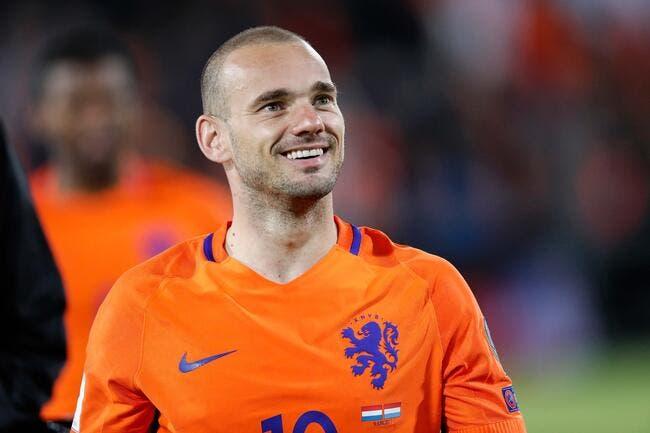 OGCN : Wesley Sneijder est finalement tenté par Nice