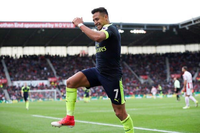 PSG : Paris distancé par Man City pour Alexis Sanchez ?