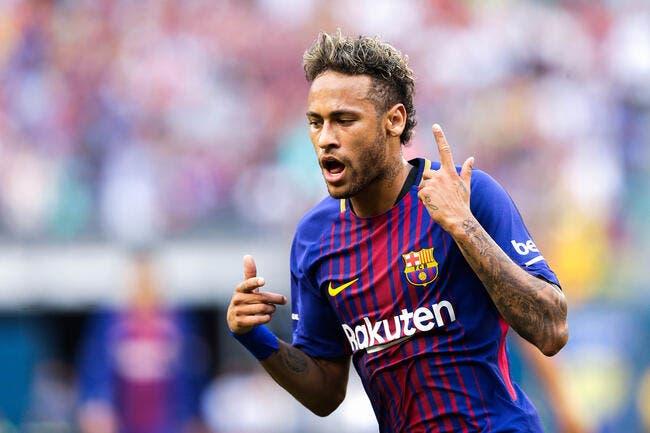 Mercato - Neymar fait ses adieux et quitte le centre d'entraînement du Barça !