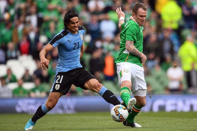 Uruguay : Cavani sort sur blessure
