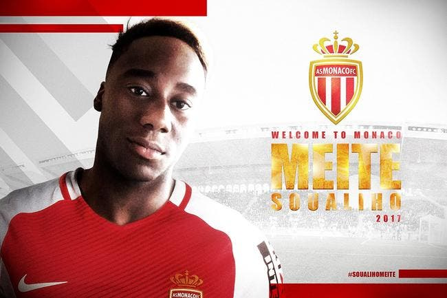 Soualiho Meïté signe à l'AS Monaco — Officiel