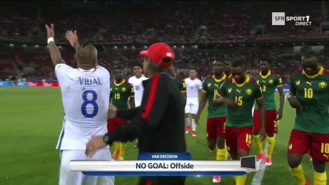 Coupe des Confédérations: le Chili bat le Cameroun 2-0