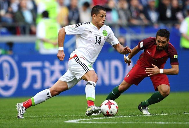 Cpe Conf : Portugal - Mexique : 2-2