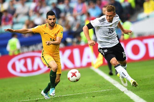 Confed. Cup : Australie - Allemagne 2-3