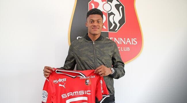 Jordan Tell (Caen) rejoint Rennes pour trois saisons — Transferts