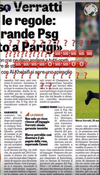 PSG: Clash, démenti, confirmation… A quoi joue Verratti?