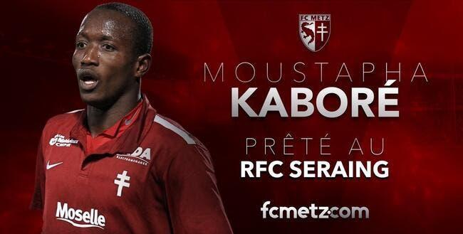 Mercato : Metz prête Kaboré en Belgique