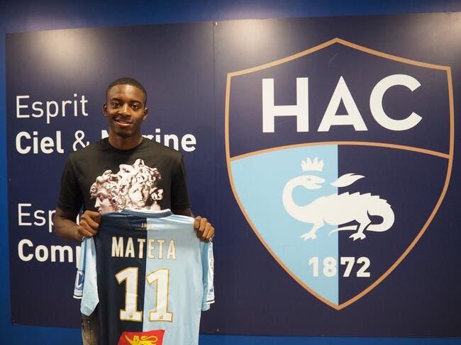 Officiel: L'OL prête Mateta au Havre