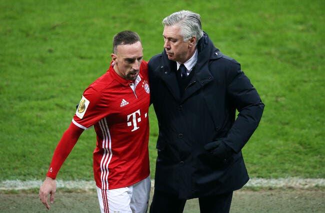 Franck Ribéry se voit bien faire le triplé avec le Bayern