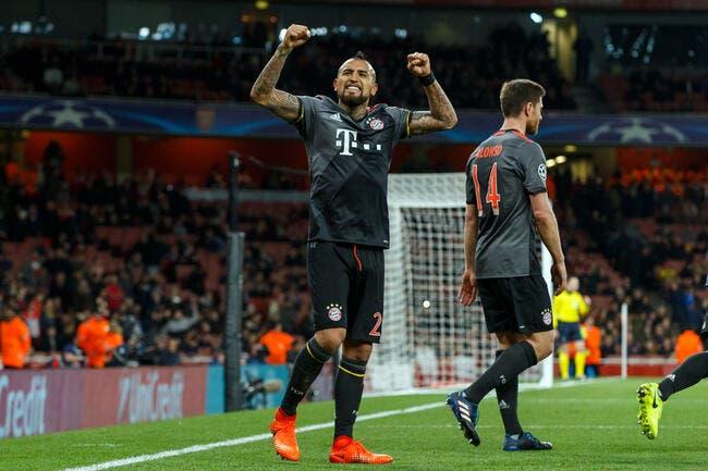 LdC: Le Bayern chambre à fond Arsenal
