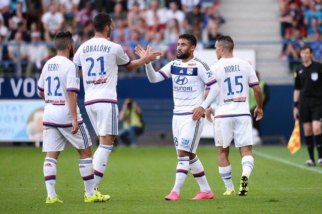OL: Nabil Fekir apte et Gonalons titulaire contre la Roma