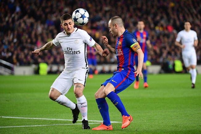 PSG: «Les joueurs du Barça n'y croyaient plus» avoue Verratti